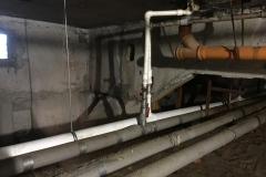 Замена розлива ХВС по подвалу Петергофское д 3 к 4