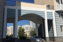 Ремонт фасада (арки)