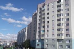 Ремонт  отд. участков фасада Маршала Захарова 12 к1