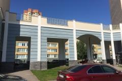 Ремонт фасада Маршала Захарова д18