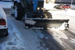 Механизированная уборка снега в феврале 2019