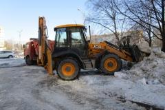 Вывоз снега февраль