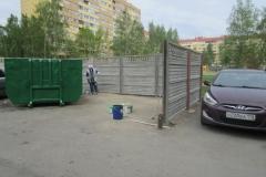 Ремонт контейнерной площадки Кузнецова 23 корп1