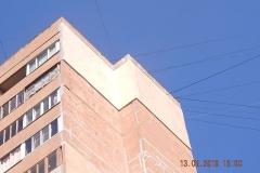 Утепление фасада Кузнецова д. 32
