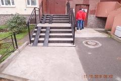 Ремонт крылец Кузнецова  дом 21