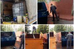 Дезинфекция контейнеров ТКО