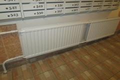 Замена радиаторов на лестничной клетке ленинский д 92 к 1