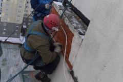 Ремонт фасада пр Героев д 26 к 3