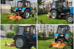 Механизированный покос травы