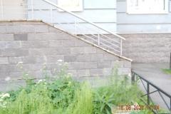 Ремонт цокольной плитки М.Захарова д 18 к 2