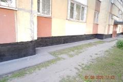Окраска цоколя М Жукова д 37 к 1
