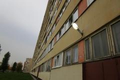 Ремонт фасадного освещения Петергофское ш д 5 к 1