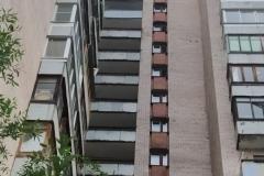 Ремонт ограждения переходных балконов Петергофское ш д 3 к 5