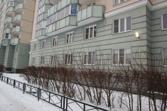 Ремонт фасадных светильников Маршала Захарова д 12 к 1