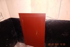 Замена двери в подвал Петергофское ш д 1 к 1