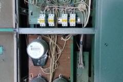Перетяжка нулевого кабеля в электрощитках М.Захарова д29 к1
