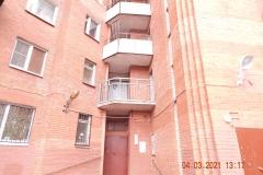 Ремонт аварийного ограждения переходного балкона Кузнецова д17 пар11