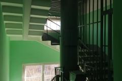 Косметический ремонт лестничных клеток Доблести д24 к1