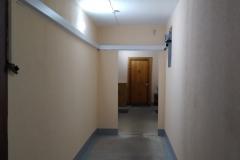 Косметический ремонт освобожденных от перегородок и хлама квартирных холлов Ленинский д79 к1