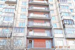 Ремонт аварийных ограждений переходных балконов Маршала Казакова д28 к1